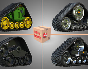 3D Rubber Crawler Track Systems - Package