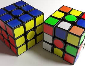 Magic Cube Puzzle 3D jigsaw