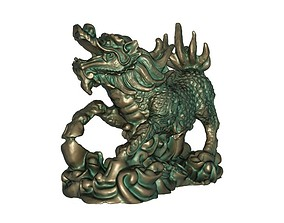 Kirin 3D print model china