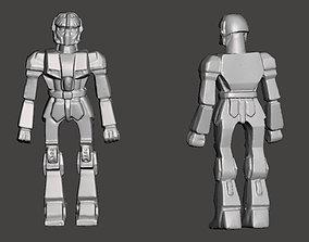 Robot toy figurine 3D print model