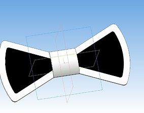 Bow tie 3D printable model