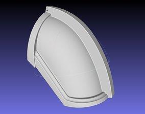 Star Wars Mandalorian Chrome Armor Shoulderpiece