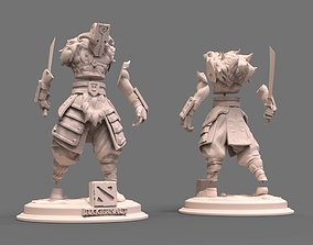 3D printable model juggernaut dota2 PARTS