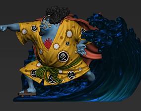 3D print model Jinbe statue - One Piece - Anime