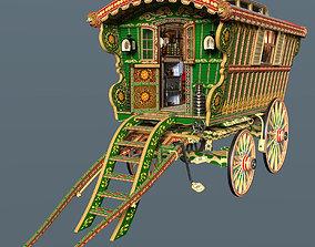 3D model Reading Wagon