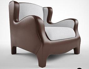 3D Promemoria Club armchair