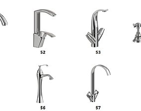 3D model 10 Faucet Pack Collection