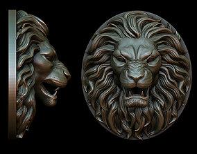 3D printable model Lion Pendant - two versions