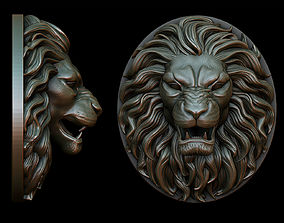 3D printable model Lion Pendant - two versions