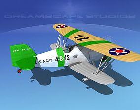 Curtiss F-11-C2 Goshawk V02 3D