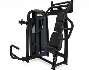 3D model Technogym - Selectorised - Chest Press