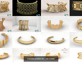 jewelry bracelet pritable 3d