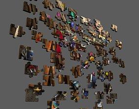 3D asset Puzzle 1