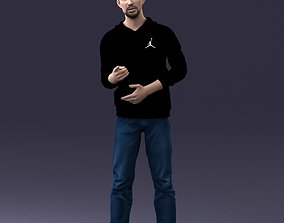 businessman Man in pose 1121 3D Print Ready