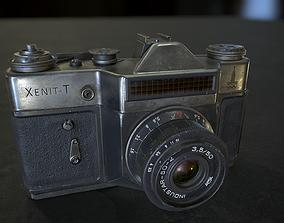 Retro Camera 3D asset VR / AR ready