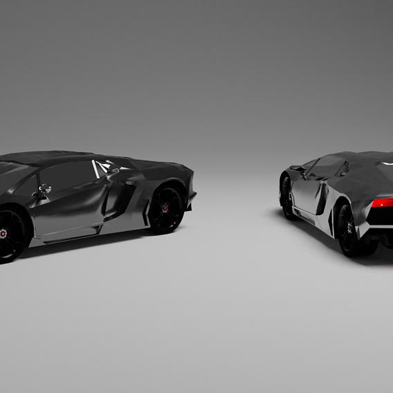 Lamborghini Aventador (beginner)