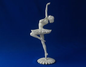 3D printable model girl Ballerina