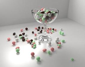 Chocolate Drop in Bowl 3D model