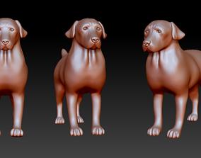 Labrador retriever figurine 3D print model 3D print model