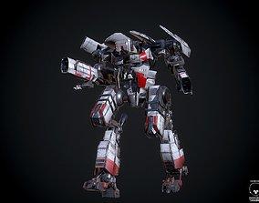 3D asset Combat Mech