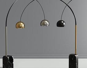 3D model Flos Arco Floor Lamp