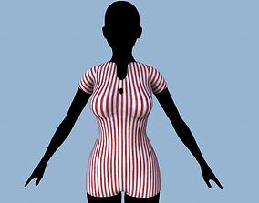 3D asset Overalls 2