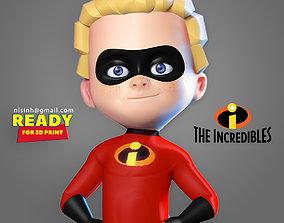Dash Parr - Incredibles Fanart 3D print model