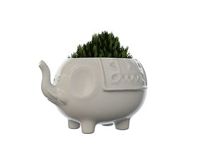 Elephant Vase Plant 3D printable model