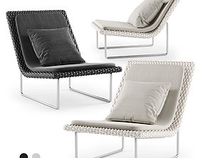 3D asset Sand Lounge Chair by Paola Lenti