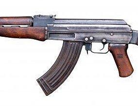 3D model realtime AK-47