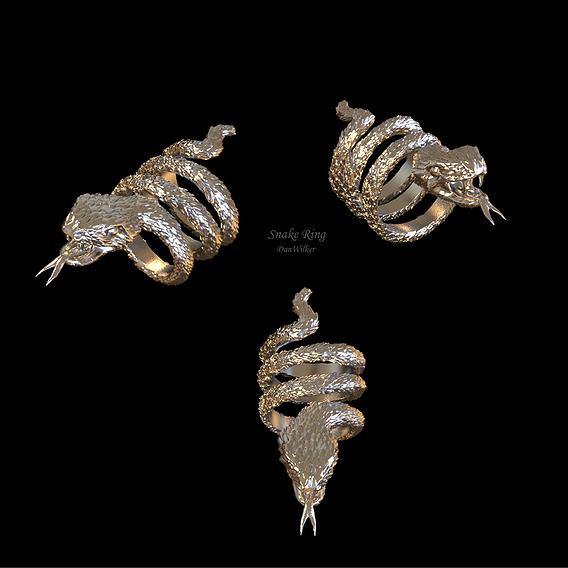Luxury Snake Ring