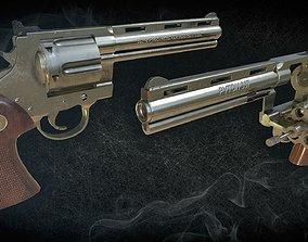 Colt Python 3D model