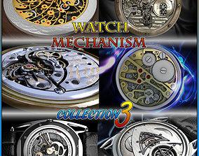 Watch mechanism coll 3 3D