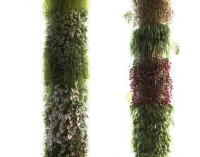 Columns Garden 2 3D