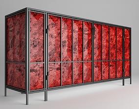 3D asset Lava Cabinet