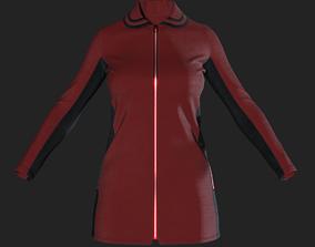 Lady Coat 3D model