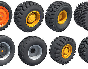 8 Tyres Collection 3D