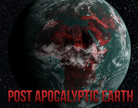 Post apocalyptic earth 3D