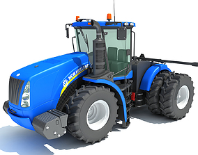 3D model wheel New Holland Tractor
