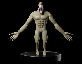 Big Teeth Scary Creature 3D asset