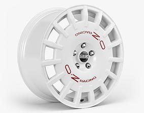 3D model OZ Rally Racing Wheel racing
