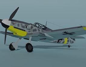 Messerschmitt Bf 109 G-6 3D asset