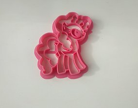 My Little Pony cookie cutter 3D print model