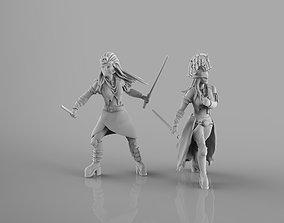 Dark Maidens 3D print model