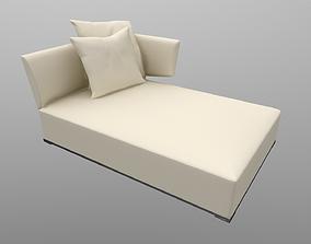 Amoenus sofa Set2 Foster Ivory 3D model