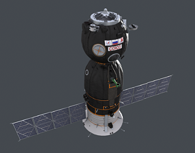 3D Soyuz Spacecraft model realtime
