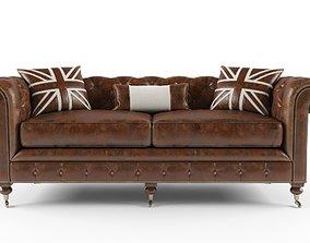 3D Sofa Dialma Brown