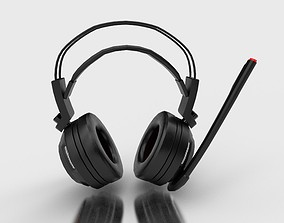 3D model realtime MSI DS 502 Headphones