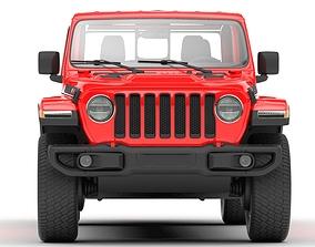 3D Jeep Gladiator Rubicon 2020