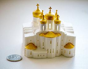 Saint Sophia Cathedral in Novgorod - mini 3D print model